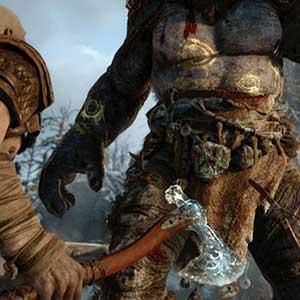 God of War PS4 Troll