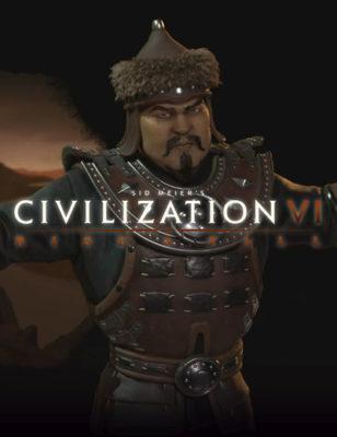 Civilization 6 Rise and Fall vedrà il ritorno di Gengis Khan e dei Mongoli