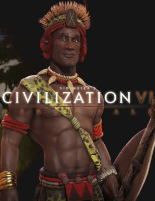 Shaka guida Zulu nella battaglia in Civilization 6 Rise and Fall