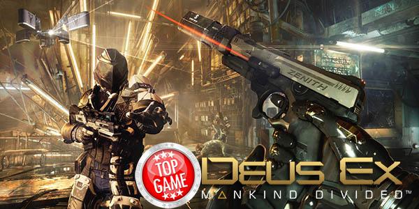 Bonus di Preordine Deus Ex Mankind Divided