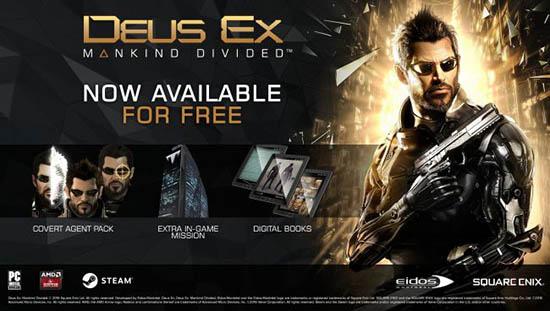 Deus Ex Mankind Divided Bonus