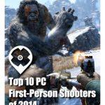 Top 10 Sparatutto in Prima Persona per PC del 2014