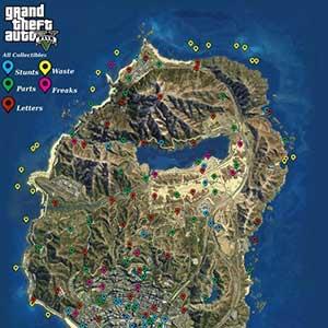 GTA 5 PS4 Mappa 1
