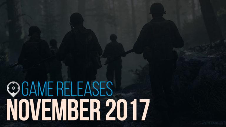Rilascio dei Giochi a Novembre 2017