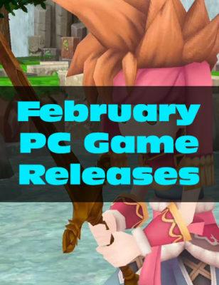 Rilasci di giochi per PC a Febbraio 2018