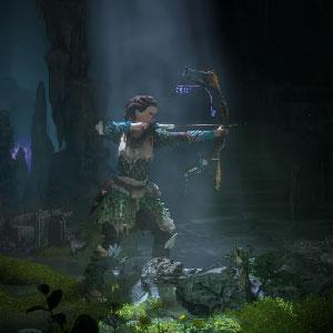 Horizon Zero Dawn PS4 Interfaccia