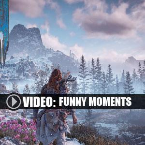 Horizon Zero Dawn The Frozen Wilds PS4 Momenti divertenti