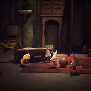 Little Nightmares Attraversando furtivamente