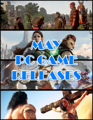 Rilasci di giochi per PC a Maggio 2018