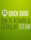 Come attivare una CD key su STEAM