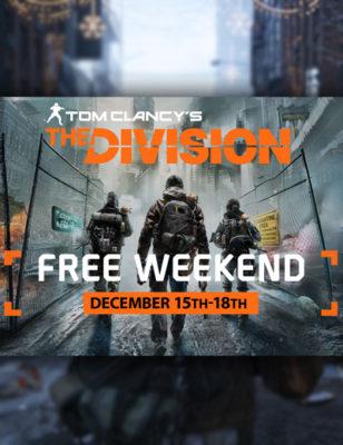 Giocate The Division Gratis su PC dal 15 al 18 dicembre!
