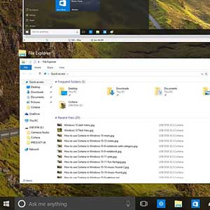 Multitasking su Windows 10 Pro