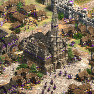 Age of Empires 2 Definitive Edition Lords of the West Centro città