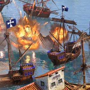Age of Empires 3 Definitive Edition Battaglia navale