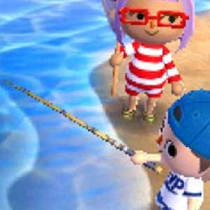 Animal Crossing New Leaf Nintendo 3DS Nuoto