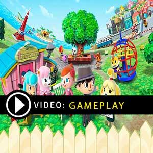 Animal Crossing Nintendo Switch Gameplay Video