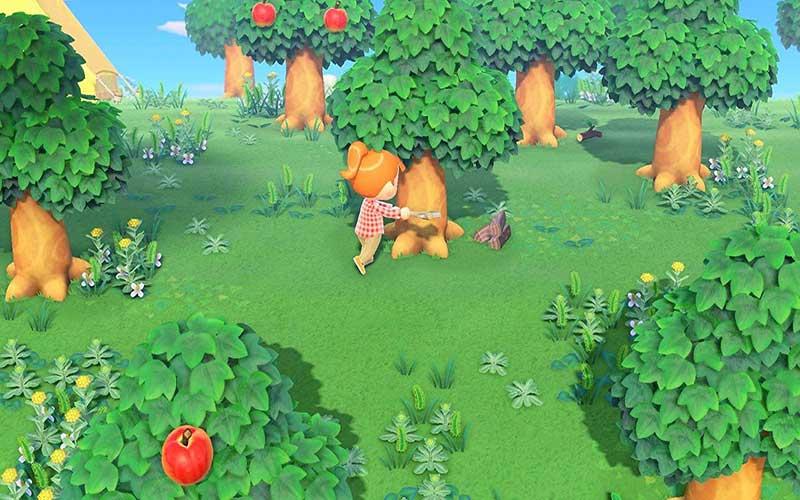 Animal Crossing New Horizons Nintendo Switch Foresta