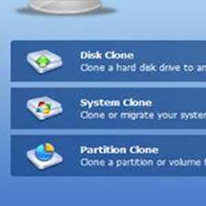 sistema di trasferimento passo-passo o aggiornamento del disco rigido