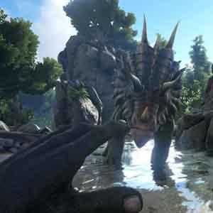ARK Survival Evolved - Faccia a faccia con il Dinosauro