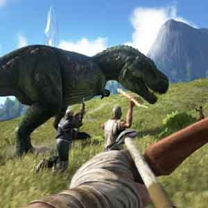ARK Survival Evolved - Cacciando il T-Rex