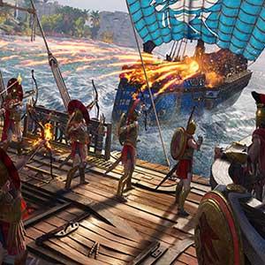 Battaglia navale di conquista dell Assassins Creed Odyssey