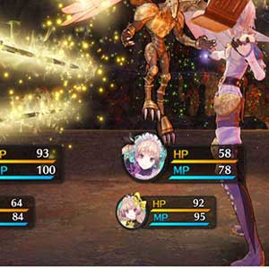 Sistema di combattimento Atelier Lydie & Suelle The Alchemists and the Mysterious Paintings