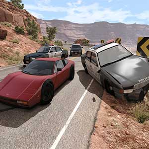 BeamNG Police chases
