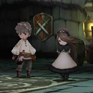 Bravely Default Nintendo 3DS Personaggi