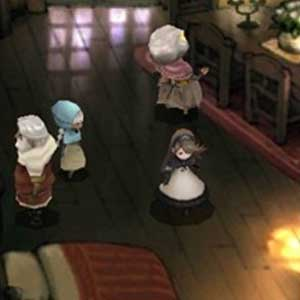 Bravely Default Nintendo 3DS Camera da letto