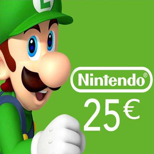 Acquista Scheda Nintendo eShop 25 Euro Confronta Prezzi