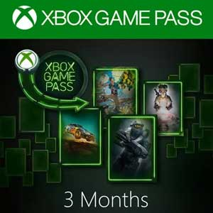Xbox Game Pass 3 Mesi