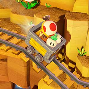 Captain Toad Treasure Tracker Nintendo Wii U Ferrovia