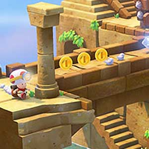Captain Toad Treasure Tracker Nintendo Wii U Diamante