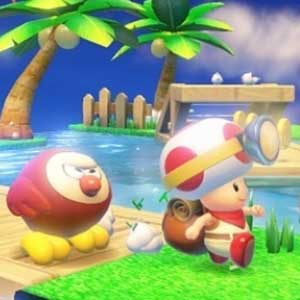 Captain Toad Treasure Tracker Nintendo Wii U Personaggi