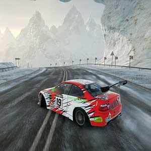 CarX Drift Racing Online Traccia innevata