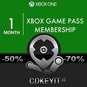 Xbox Game Pass 1 Mese