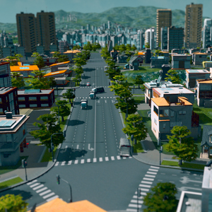 Cities Skylines Città