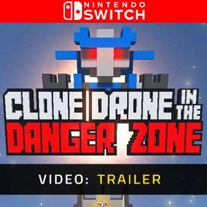 Clone Drone in the Danger Zone Nintendo Switch Video Trailer