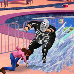 Cobra Kai The Karate Kid Saga Continues Attacco su ghiaccio