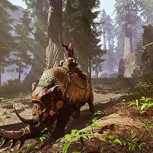 Conan Exiles Isle Of Siptah Rinoceronte Di Wartorn