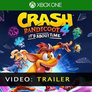 Video del rimorchio Crash Bandicoot 4 Its About Time
