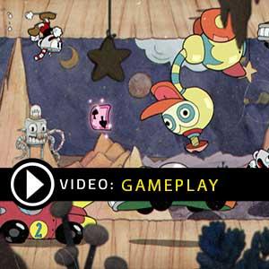 Cuphead Nintendo Switch Gameplay Video