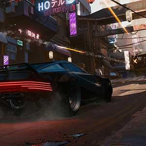 Cyberpunk 2077 Veicolo
