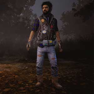 Dead By Daylight: Jake in patch Giacca di jeans e pantaloni di pelle