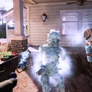Dead Island 2 Zombie congelato