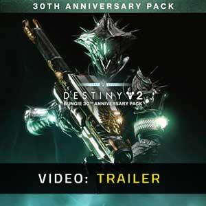 Destiny 2 Bungie 30th Anniversary Pack Video Trailer