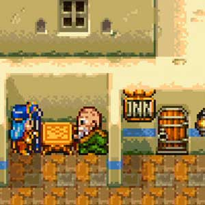 DRAGON QUEST 11 S Echoes of an Elusive Age Grafica a 16 bit