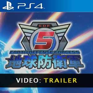 Earth Defense 5 PS4 Video Trailer