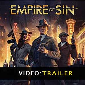 Video del trailer di Empire of Sin