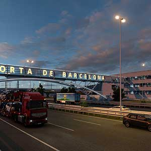 Euro Truck Simulator 2 Iberia Porta de Barcelona